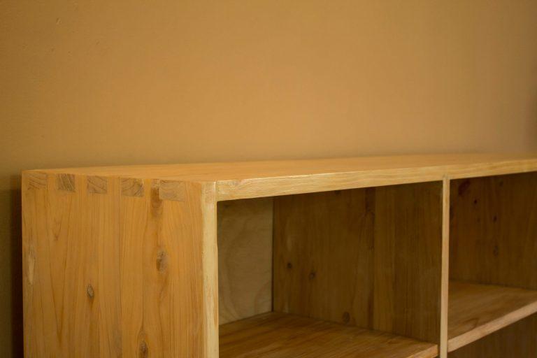 Fresh Timber TV Unit Modern & Simple style