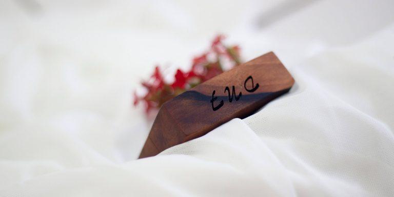Fresh Timber engagement ring box engraving