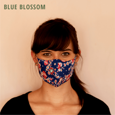Fresh Timber Material Face Mask Blue Blossom