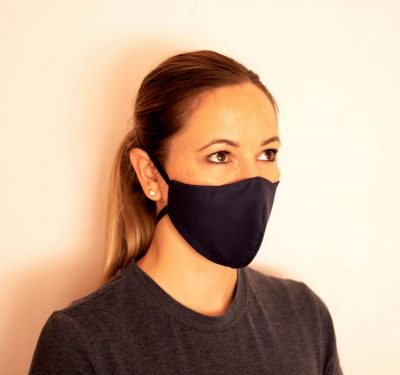 Fresh Timber Material Face Masks Navy