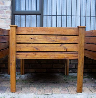 Fresh Timber Small Wooden Planter Box