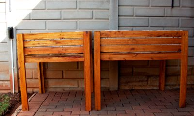 Fresh Timber outdoor wooden herb planter box
