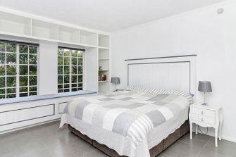 Fresh-Timber-Bay-Window-book nook Headboard-White