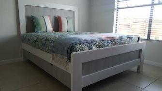 Fresh Timber Bed Base_white wood & MDF storage